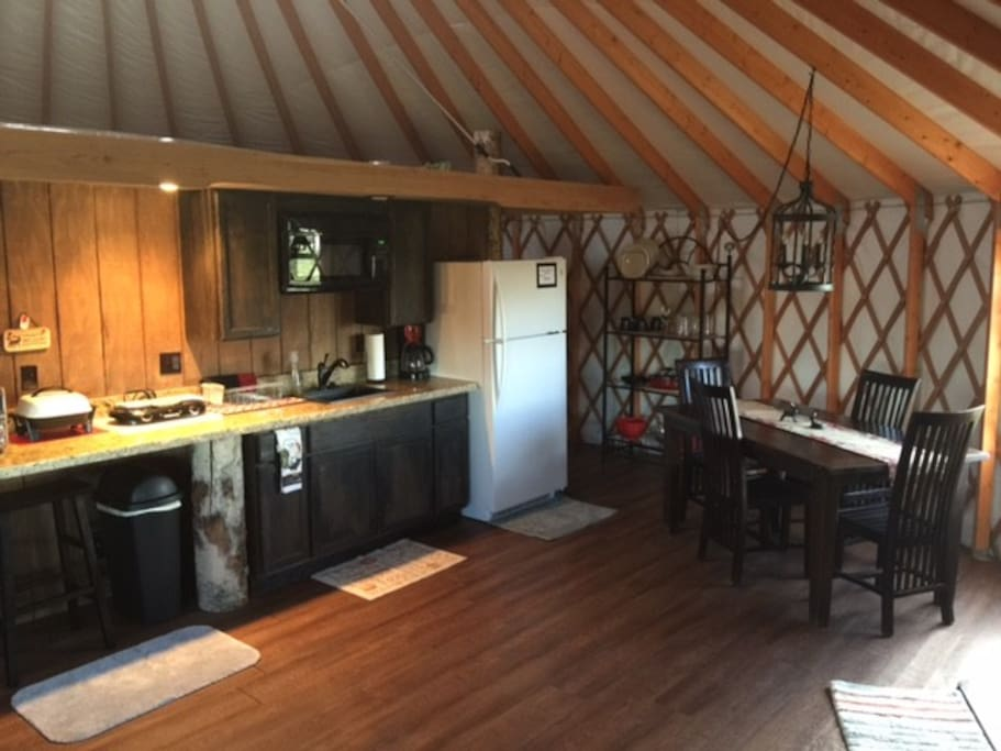 YURTS KITCHEN