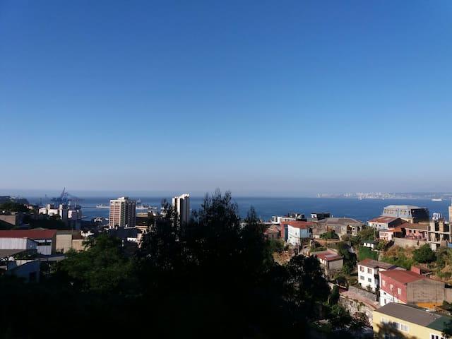 Espectacular vista, Central en Cerro Yungay!!!