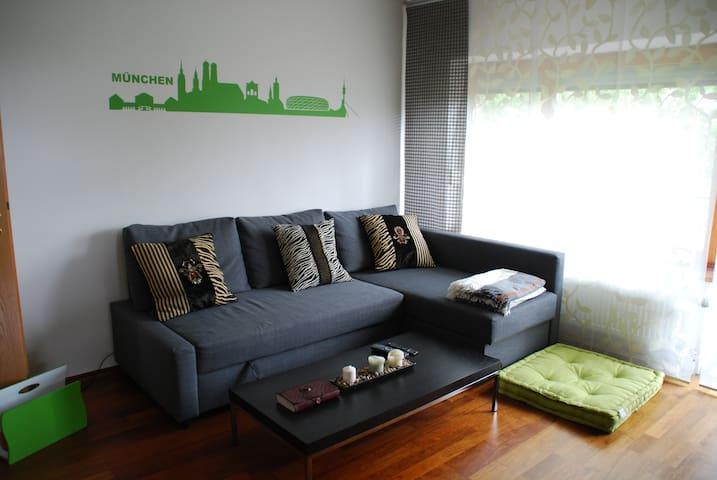 Ruhige 3-Zimmer Wohnung München Ost - Haar - Apartment