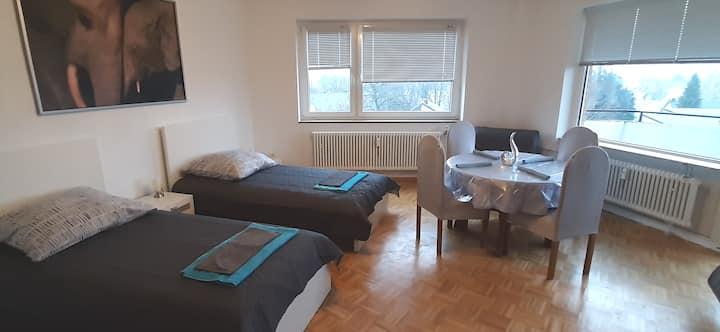 Appartement 70qm, zentral!