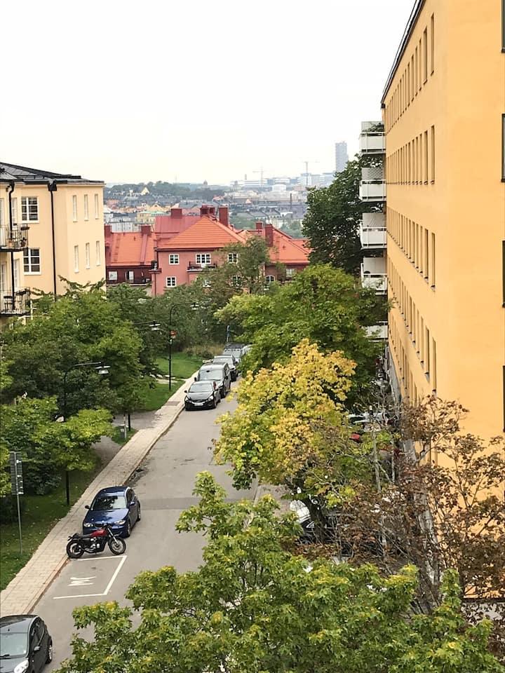 Small apartment in trendy Hornstull - Södermalm