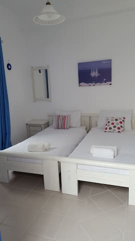 Private Room in the heart of Mykonos Town - Mikonos - Appartement