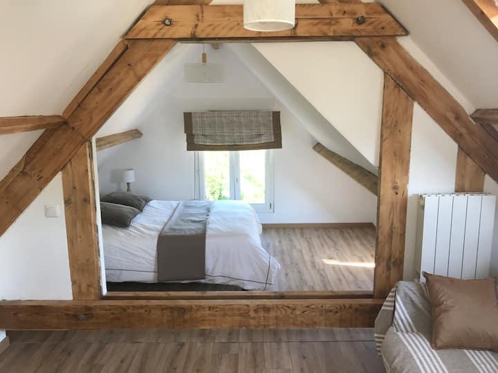 Logement Cozy à la campagne proche  Baie de Somme
