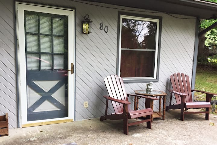 Private duplex 2 min to I-40