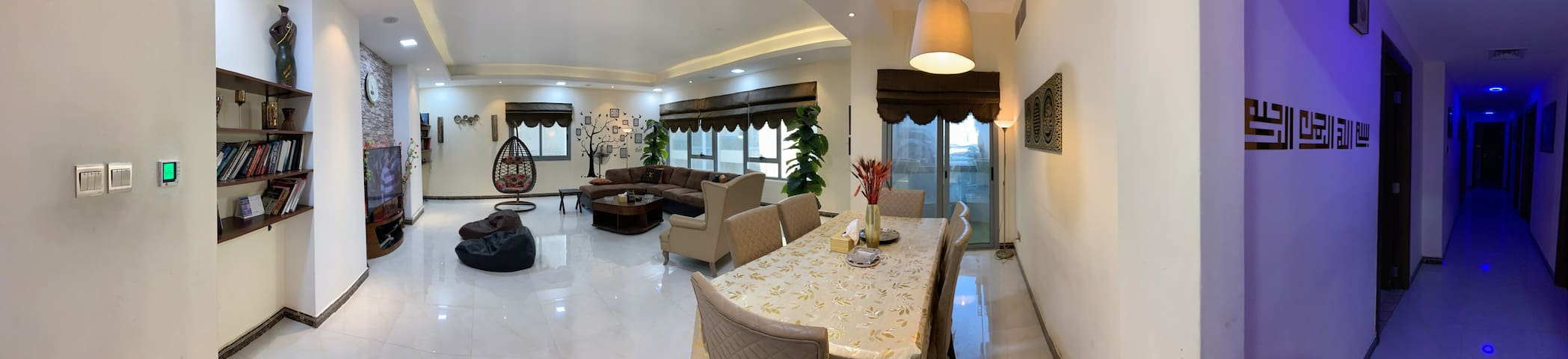 Luxury Apartment 3 B.R huge Suite near LAKE Khalid
