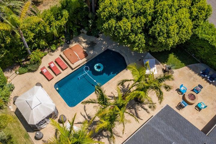 Tropical Dream House-Pool.Jacuzzi.Nature Preserve