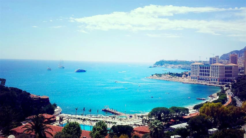 MONTE-CARLO TENNIS,BEACH CLUB BREATHTAKING SEEVIEW