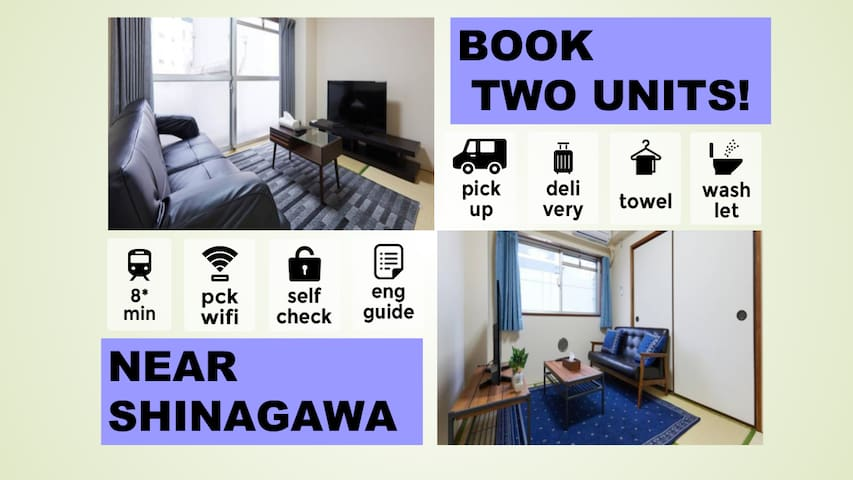 【LICENSED!!】 2 ROOMS! EASY ACCESS & 2 MOBILE WIFI