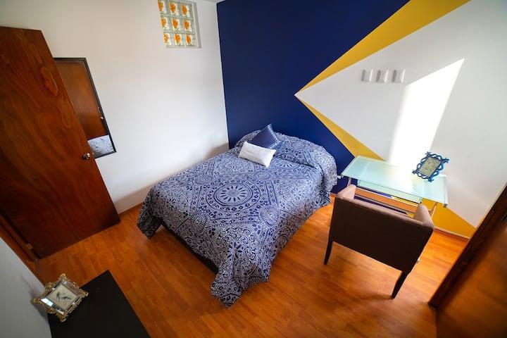 Magnífica habitación a media cuadra de Masaryk 2E