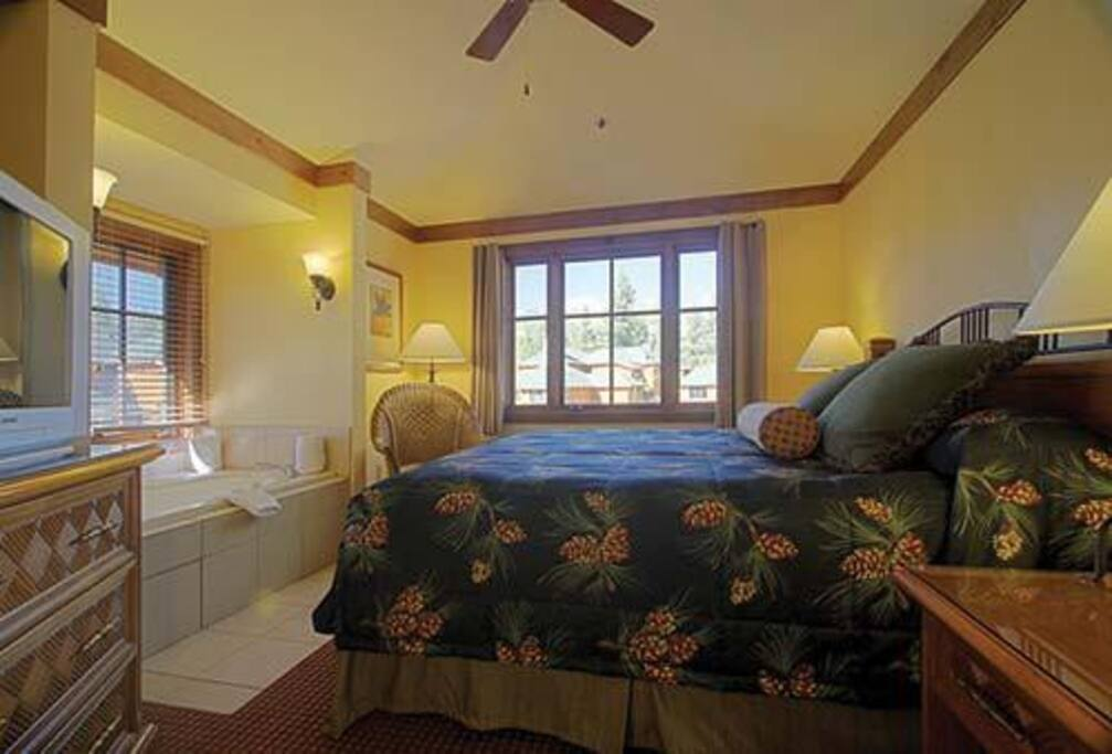 One of the beautiful Bedrooms!