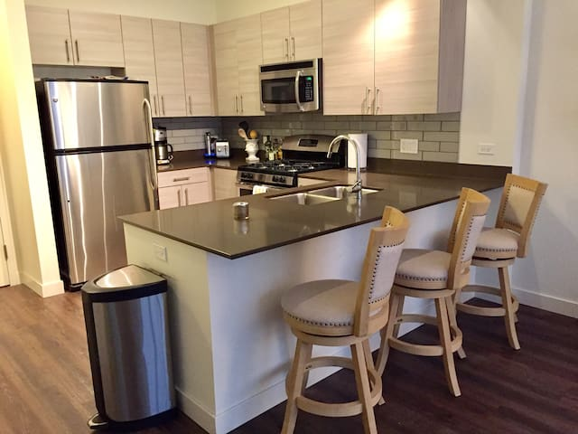 New Trendy West Loop Apartment with rooftop pool - Chicago - Appartement