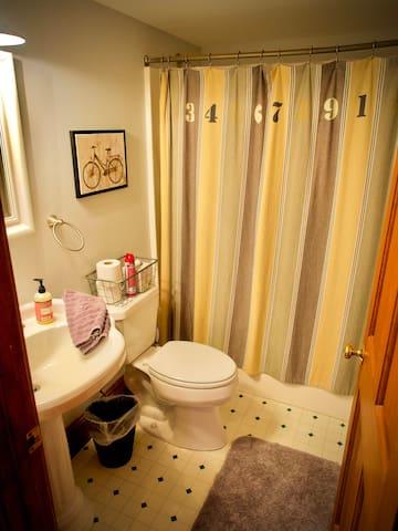 Communal 2nd floor bathroom