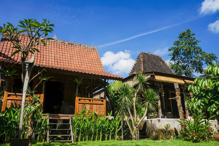 Blissful Balinese Peaceful Retreat near a river