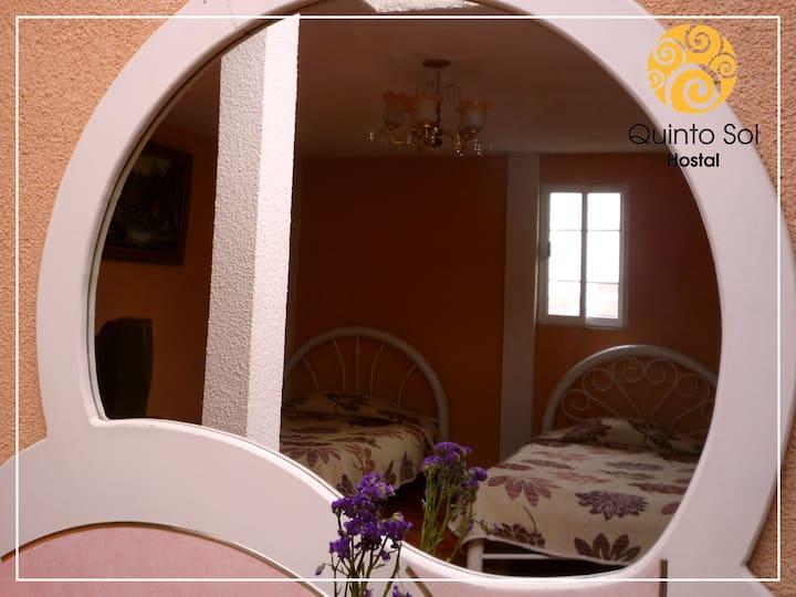Fifth Sun Hostel   Shared Room
