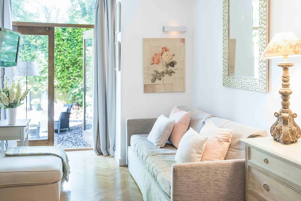Bright and open living area