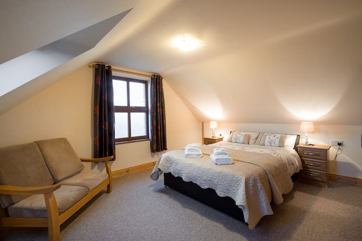 Double bedroom , View facing (North)