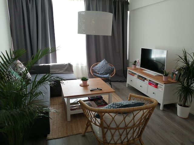 Bright and warm 67m2 flat Rotterdam South
