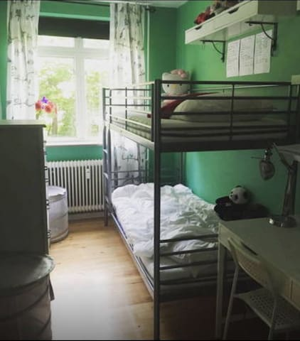 Nice little room in cosy apartment - Søborg - Leilighet