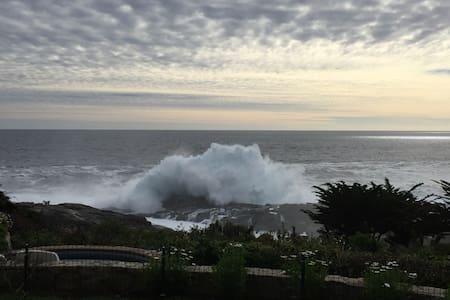 Spectacular ocean front house - Zapallar - Casa