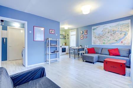 """LIKEHOUSE""  уютная квартира у метро! - Sankt-Peterburg - アパート"