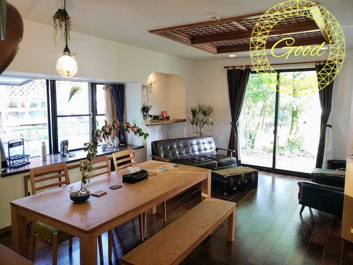 [GOOD]Japanese style house in Mt.Aso!