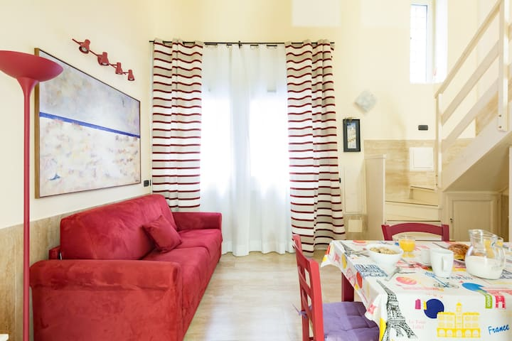 1 Bedroom Apartment 200m from Piazza Navona