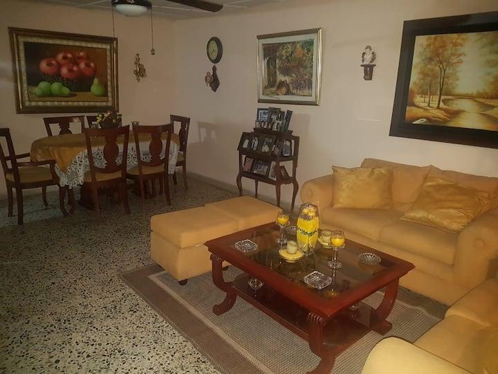 Casa Vallenata, habitación privada