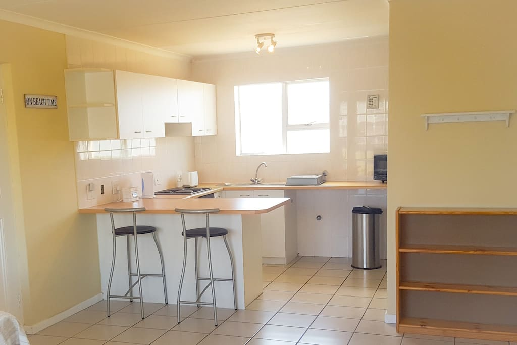 Kitchen  fully equipped for up to 6 guests