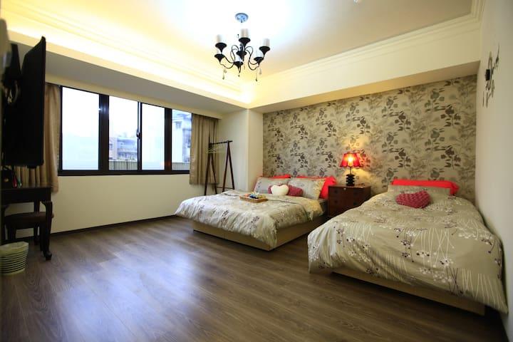 G2+G3+G4+G5 room for 12 guests ---near Taipei 101 - Da'an District - Lägenhet