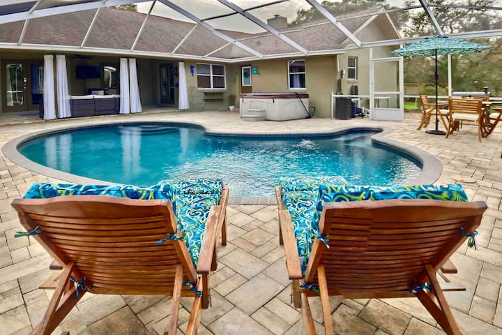 Citrus Hills Golf & Country Club Estate Pool Oasis