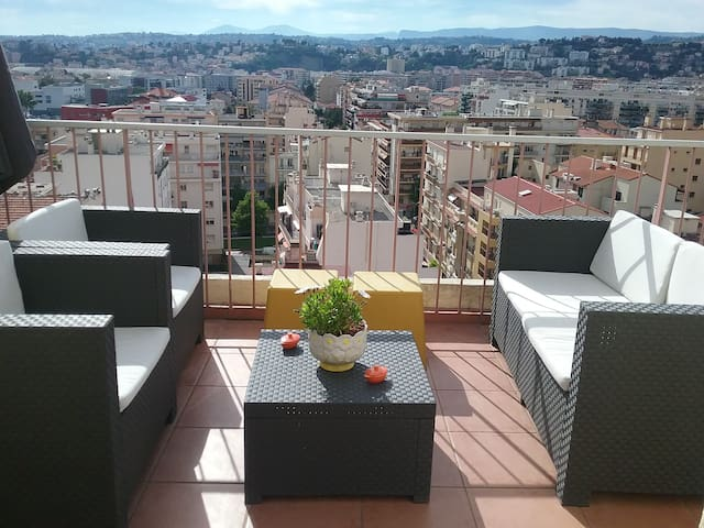 VERY BEAUTIFUL APARTMENT AND VIEW - Nice - Byt