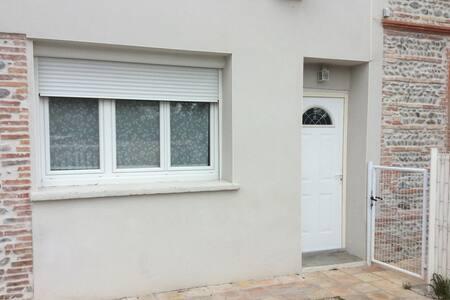 chambre d'hôte dans maison toulousaine