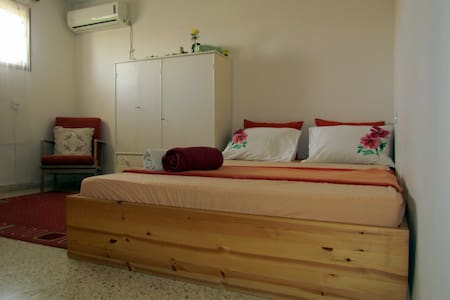 romantic room, ensuite bathroom near TLV airport - Kfar Shmu'el - 独立屋