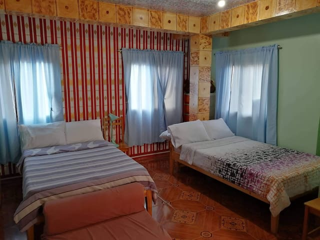 SAGADA VILLAGE BEDS Family Room (4-5 pax)