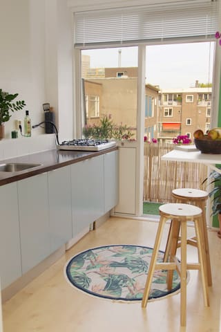 Private apartment with balcony in city centre