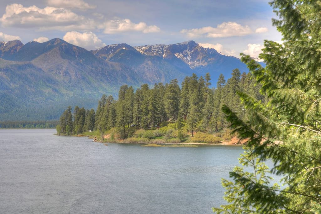 Vallecito Lake and Rocky Mountains in Southwest Colorado