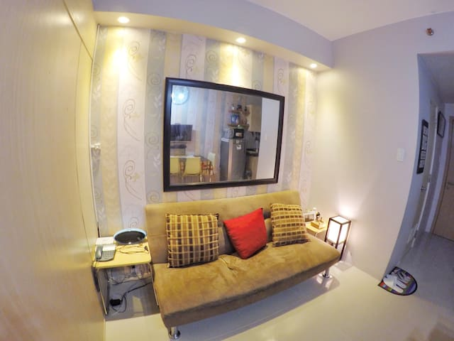1Br fully furnished unit w/FREEWifi - Quezon City - Selveierleilighet