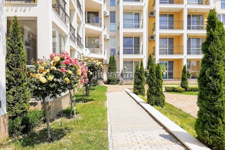 1-bedroom apartment 250 m from the beach in Byala