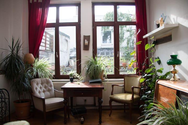 Monatsweise (!) ca. 30qm Zimmer zentral im Viertel - Bremen - Apartament