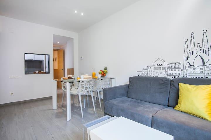 Sagrada Família Modern Apartment - 1141