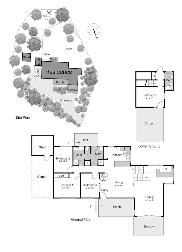 Architect designed Mid-Century Modernist gem. A clever floor plan that takes advantage of the hill top north-facing location.