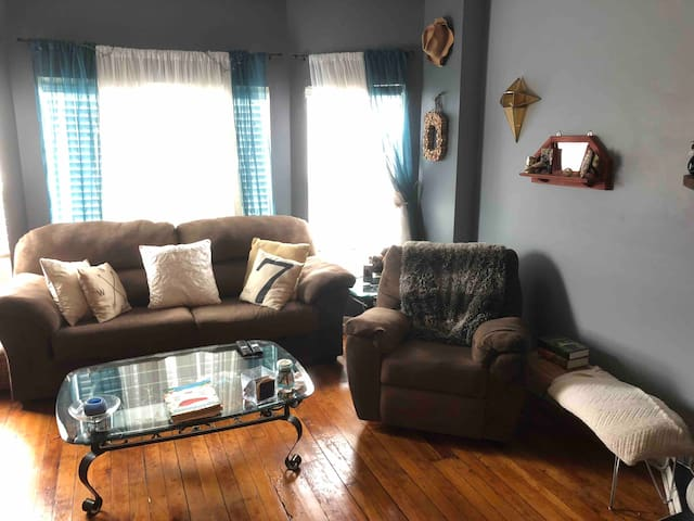 Large & Cozy, 1BR Lincoln Park Condo. Great Value!