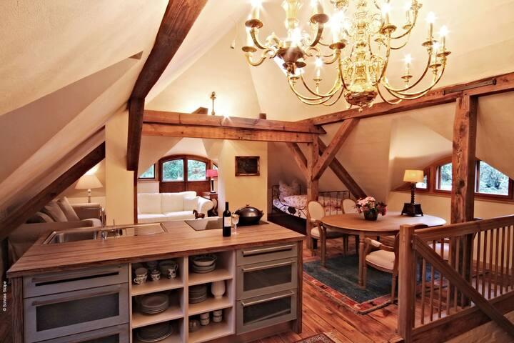 Schloss Stülpe - Wohnung Manhatten - Nuthe-Urstromtal