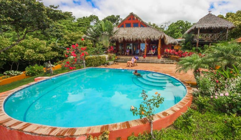 Bali-like Reserve, Stunning Ocean Views, Privacy - San Juan del Sur - Casa