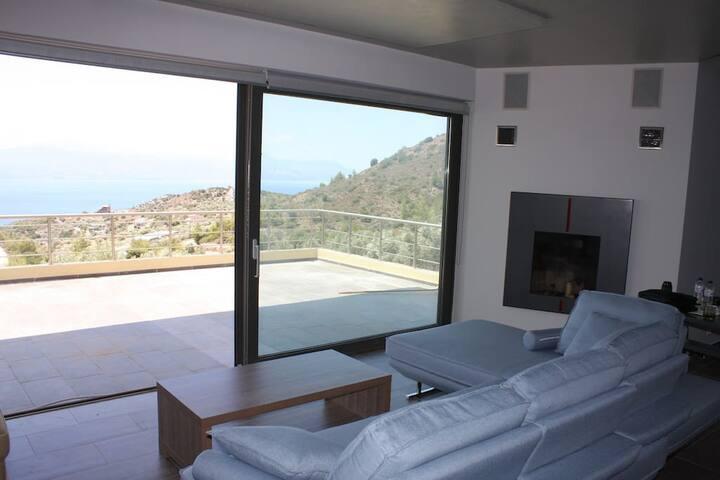 Dream Villa Anna Loutraki Super Sea view 300sqm