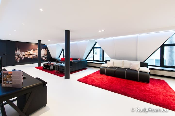 Lord of Ghent 6P lux loft in Ghent, holidayhome