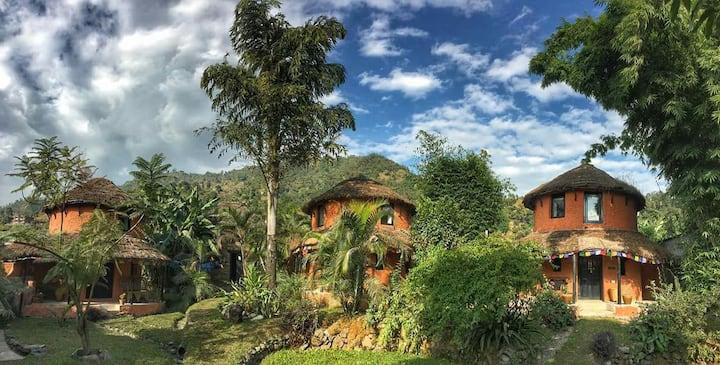 Pokhara lake view garden loft cottage
