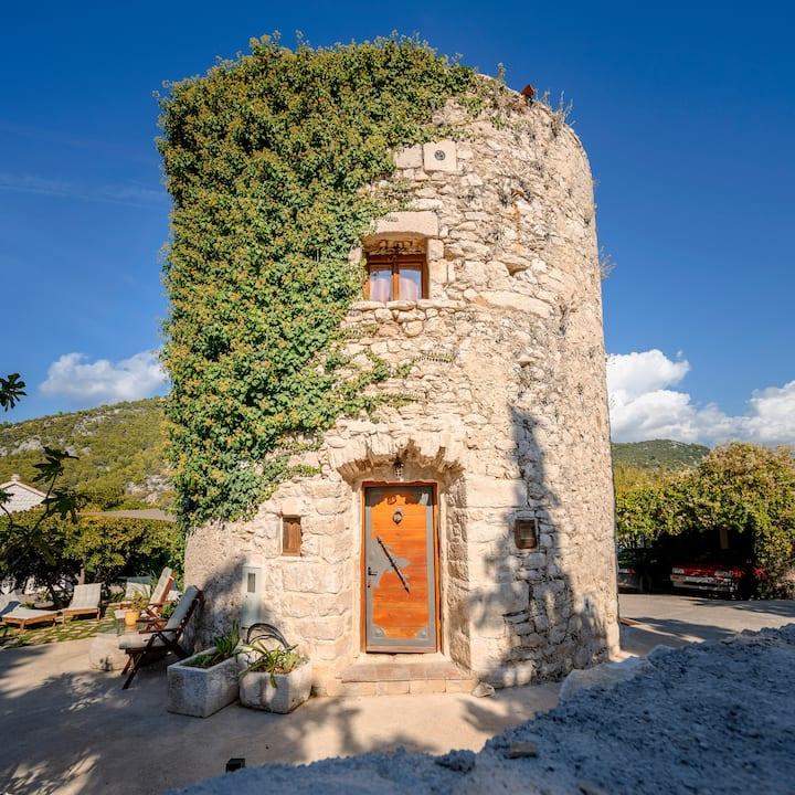 Old tower, Hvar historical center
