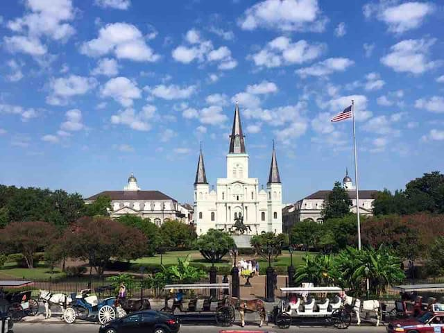 Jackson Square St Louis Cathedral