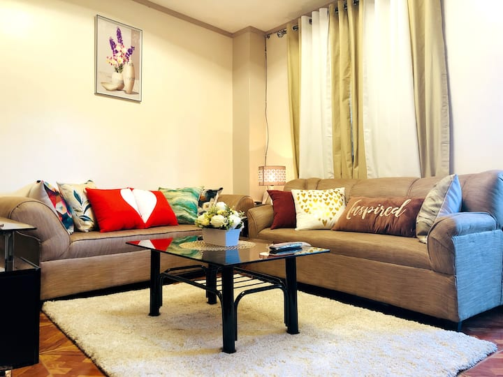 ☆NEW☆Elegant Apartment 4-6mins to SM Baguio! 2BR!☆
